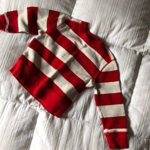 Red and white thermal
